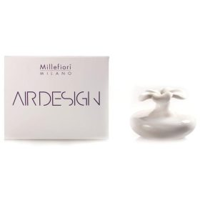 Millefiori Milano, Air Design, Dizajnový Aróma Difuzér 2ks, Extra Small Flowers, Biele Kvety