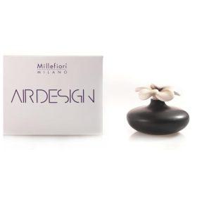 Millefiori Milano, Air Design, Dizajnový Aróma Difuzér 2ks, Extra Small Flowers, Čierne Kvety