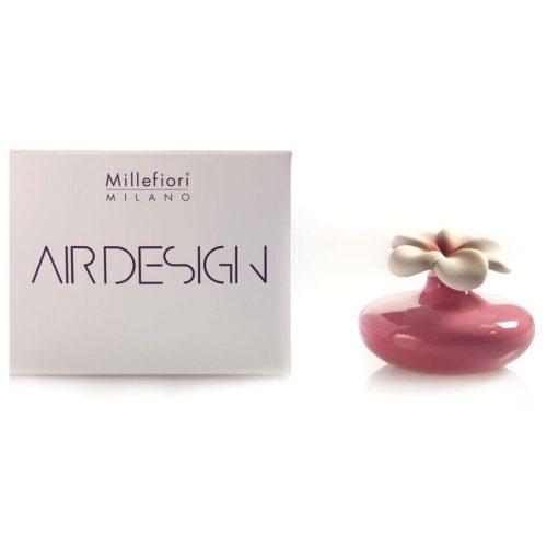 Millefiori Milano, Air Design, Dizajnový Aróma Difuzér 2ks, Extra Small Flowers, Ružové Kvety