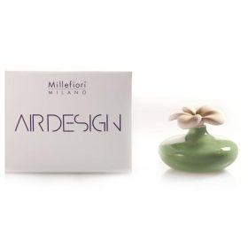 Millefiori Milano, Air Design, Dizajnový Aróma Difuzér 2ks, Extra Small Flowers, Zelené Kvety