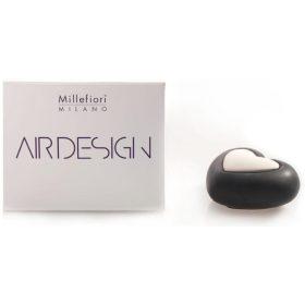 Millefiori Milano, Air Design, Dizajnový Aróma Difuzér, Heart, Čierne Srdce
