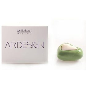 Millefiori Milano, Air Design, Dizajnový Aróma Difuzér, Heart, Zelené Srdce