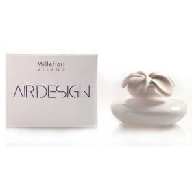 Millefiori Milano, Air Design, Dizajnový Aróma Difuzér, Large Flower, Biely Kvet