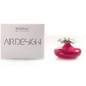 Millefiori Milano, Air Design, Dizajnový Aróma Difuzér, Small Flower, Červený Kvet