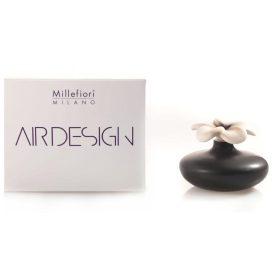 Millefiori Milano, Air Design, Dizajnový Aróma Difuzér, Small Flower, Čierny Kvet