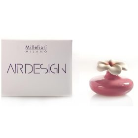 Millefiori Milano, Air Design, Dizajnový Aróma Difuzér, Small Flower, Ružový Kvet