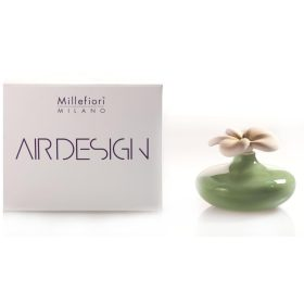 Millefiori Milano, Air Design, Dizajnový Aróma Difuzér, Small Flower, Zelený Kvet