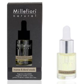 Millefiori Milano, Aróma Olej Natural 15ml, Incense&Blond Wood