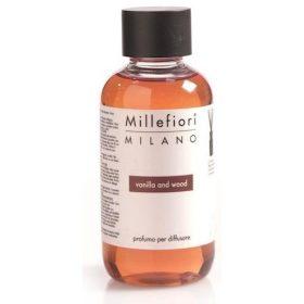 Millefiori Milano, Náhradná Náplň 150ml, Vanilla & Wood