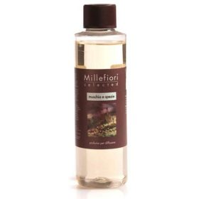 Millefiori Milano, Náplň Do Difuzéru 250ml, Muschio And Spezie