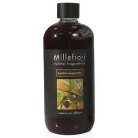 Millefiori Milano, Náplň Do Difuzéru 500ml, Sandalo Bergamotto