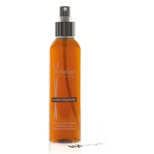 Millefiori Milano, Natural, Home Spray 150ml, Sandalo Bergamotto