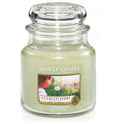 Yankee Candle, Vonná Sviečka A Child´S Wish 411g, Detské Priania